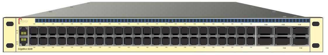 GigaMux 6200 - Multiple 10G fibre Downlink Ports with 40 or 100Gb uplink